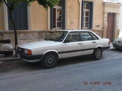 1985 Audi 80 (Alpus) Tags: rare cars athens greece april 2016 holiday classics