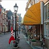 Objectif Lune - Hoorn, Netherlands (pom.angers) Tags: panasonicdmctz10 march 2011 hoorn northholland netherlands europeanunion tintin objectiflune fuséelunaire onamarchésurlalune hergé bandedessinée blakeetmortimer edgarpjacobs bike bicycle