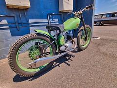 BSA (Thunder1203) Tags: green classicbike vintagemotorcycle bsabantam bsa canon canonaustralia kustomnats oldschool phillipislandgrandprixcircuit ventnor victoria australia au