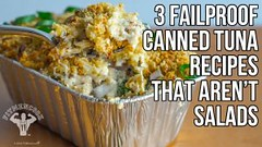 3 Easy & Cheap Canned Tuna Recipes That Aren't All Salads / 3 Maneras Usar Atún Enlatado (Healthy Fun Fitness) Tags: 3 easy cheap canned tuna recipes that aren't all salads maneras usar atún enlatado