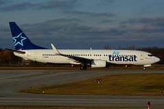 F-GZHC (Air Transat) (Steelhead 2010) Tags: airtransat transavia boeing b737 b737800 yhm freg fgzhc