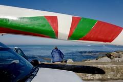 en attendant la vague... (64laeti) Tags: leicaq streetphotography candid paysbasque seascape landscape ocean