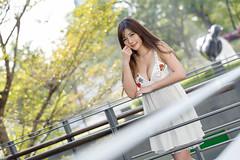 DSC_5244 (錢龍) Tags: 陳葳 d700 美術館 nikon 外拍 美胸 beauty girl sexy