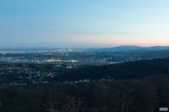 Over the West, Southwards (The Hobbit Hole) Tags: austria sunset jubileetower nikon d700 jubilaeumswarte vienna