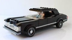 Lego Chevy Impala from Supernatural (hachiroku24) Tags: lego chevy chevrolet impala supernatural moc afol
