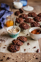 IMG_9012_exp (Helena / Rico sin Azúcar) Tags: chocolate cookie galleta muesli butter mantequilla vanilla vainilla bran oats cereales cacao cocoa dessert food comida postre