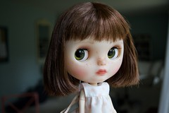 Mouse Love (Chassy Cat) Tags: translucent fairest fbl doll customized custom chassycat cheriebabette takara blythe chips eye eyechips almonddoll xs pureneemo