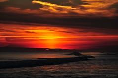 Atlantic Ocean Fire Island Sunset Breathtaking Beyond Words - IMRAN™ (SOOC) (ImranAnwar) Tags: 2017 atlanticocean beach clouds d300 dusk fireisland horizon imran imrananwar january longisland newyork nikon shore smithpoint sooc sunset water waves winter