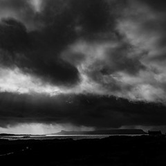 Get ready for loads more pictures of this amazing west coast of Scotland! #stunningscotland #eigg #arisaig #leicaq #holidays #blackandwhite #dramatic #beautifulscotland