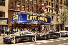 Ed Sullivan Theater (andrew_982) Tags: nyc newyorkcity usa newyork america lateshow davidletterman