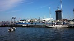 We Sail At Midday (Peter ( phonepics only) Eijkman) Tags: city haven holland netherlands amsterdam ferry harbour nederland pont noordholland gvb nederlandse