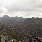 looking south from sgurr a'bhac chaolais thumbnail