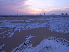 White desert (denismartin) Tags: sky cloud sunrise sand egypt sandstorm limestone egypte bahariya whitedesert westerndesert farafra libyandesert chalkrock desertblanc denismartin farafradepression