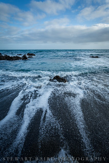 Cold sea rushing in