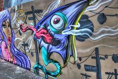 Juddy Roller Street Art (DaveFlker) Tags: street art jack buttons melbourne roller jd douglas cherie juddy