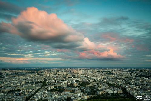 Vu de la tour Montparnasse