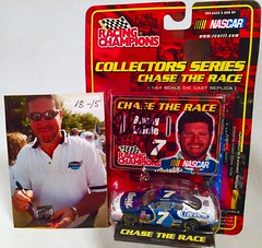 #18-15, Randy LaJoie, Signing, Racing Champions, 2001, Kleenex, #7, Busch, (Randy is in a Kleenex Shirt) (Picture Proof Autographs) Tags: auto classic cars scale car sign real toy toys photo model automobile image display models picture images collection vehicles photographs photograph collections nascar displays 164 vehicle driver proof session autoracing autos collectible collectors signing automobiles collectibles authentic sessions collector drivers genuine diecast winstoncup carded buschseries inperson 164th photoproof authenticated blisterpacks pictureproof