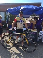 102 Miles (The Goat Whisperer) Tags: me bike bicycle club century birmingham ride alabama series 100 miles backroads