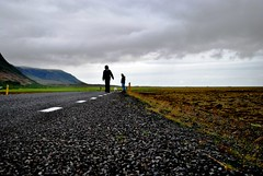 "On The Road (Self ""portrait"" - Iceland) (Manlio'77) Tags: walking walkingaway manlio autoscatto selftimer manliophotography"