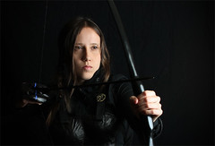 Archer (shadamai) Tags: diy cosplay body armor bow arrows archer bodyarmor katniss hungergames katnisseverdeen mockingjay