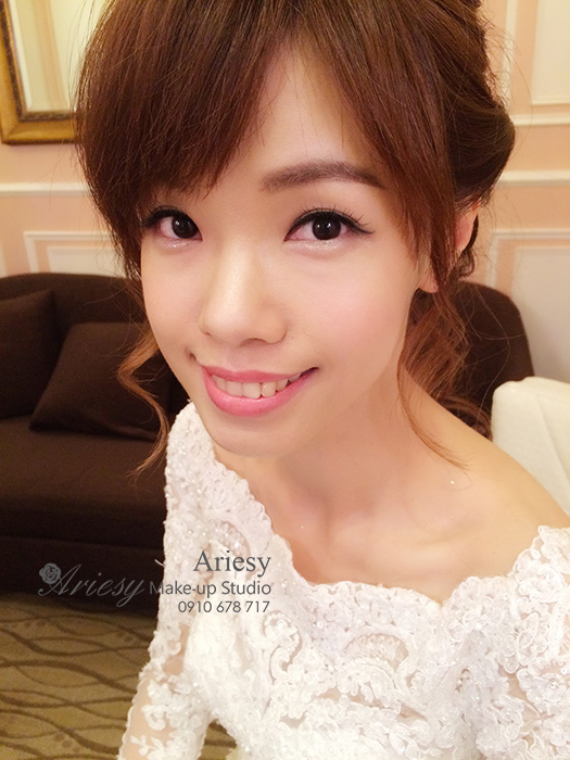 Ariesy,愛瑞思,愛瑞思造型團隊,新娘髮型,新娘秘書,新秘,水源會館,旗袍造型,新秘推薦