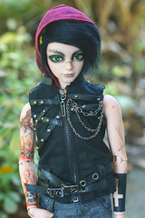Knight (Ise-Bandit) Tags: ball asian doll ryan knight bjd resin dollfie abjd joint ih jid iplehouse