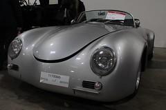 Porsche 356 (Benny Hnersen) Tags: auto oktober car october replica porsche bil 1968 messe fredericia 356 2015 parkeringsplads stumpemarked