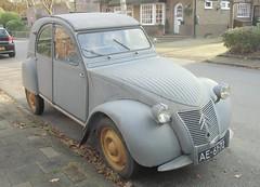 Citroën 2CV AZL (bcbvisser13) Tags: azl 2cv citroën 1957 ae6172 austerlitz provutrecht nederland eu model1954 bcbvisser13
