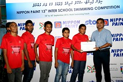 Nippon Paint 13th Inter School Swimming Competition 2015 430