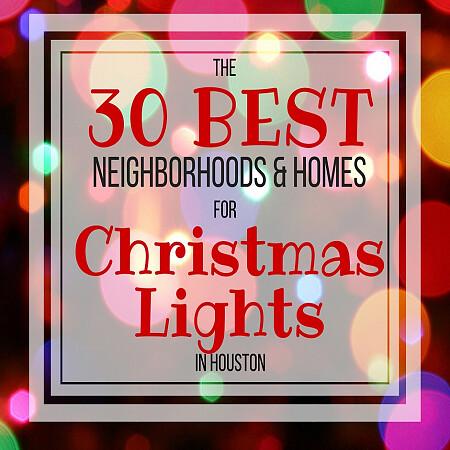 the 30 best neighborhoods for christmas lights