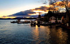 Wolfeboro Waterfront 11.14.15 (rowland-w) Tags: sunset sky cloud lake reflection water evening newengland newhampshire nh explore wolfeboro smrgsbord winnepesaukee explored