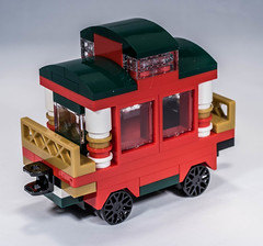 Lego Christmas Limited Ediotion 2015 - 1/2 (gnaat_lego) Tags: lego review exclusive christmastrain gnaat limitededition2015