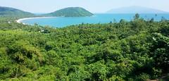 Green bay (Roving I) Tags: sea landscapes bush scenic panoramas vietnam beaches bays whitesand danang peninsulas