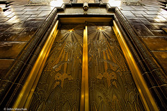 Where will this door take me? (johnmaschak) Tags: vancouver artdeco marinebuilding