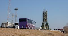 Expedition 46 Launch (NHQ201512150030) (NASA HQ PHOTO) Tags: nasa launch kazakhstan kaz baikonur baikonurcosmodrome soyuzrocket joelkowsky launchpad1 russianfederalspaceagencyroscosmos expedition46 soyuztma19m expedition46preflight