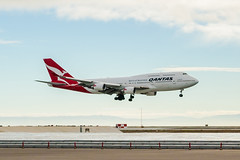Qantas Airlines 1 (NickRoseSN) Tags: sf sanfrancisco airport sfo aircraft aviation airplanes airline sanfranciscobayarea bayarea sfbayarea boeing airlines qantas boeing747 747 millbrae b747 sanfranciscointernationalairport sanmateocounty sfoairport sanfranciscoairport qantasairlines 747boeing