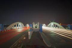 Napier Bridge lights (shaik mohaideen) Tags: mychennai chennai tamilnadu marina napier bridge