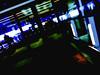 Living in a Multiverse (Steve Taylor (Photography)) Tags: art digital building door window light black blue green white yellow dutchtilt dutchangle uk gb england greatbritain unitedkingdom london silhouette shadow glow