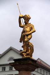 Stadtrundgang Eisenach (dieter.steffmann) Tags: eisenach marktbrunnen drachentöter wartburgstadt thüringen thüringerwald