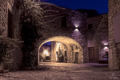Peratallada. Baix Empordà. (jepiswell) Tags: peratallada emporda vilamedieval catalunya catalonia nightscape