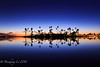 Mission Bay Reflection (binzhongli) Tags: sunset bluehour bay missionbay sandiego california canon canon6d reflection landscape
