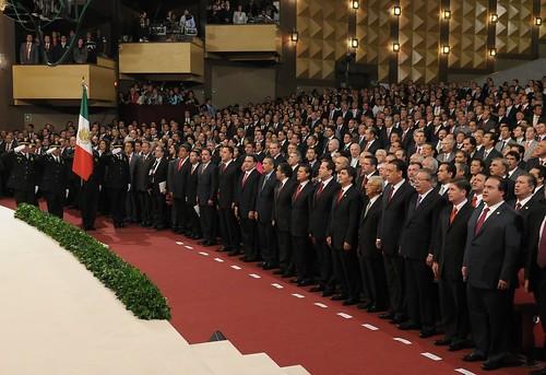 El gobernador Javier Duarte de Ochoa asiste a Toma de Protesta de gobernador de edo. de México