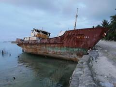 Shipwreck, Betio.