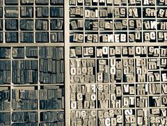 Letters (FloreB.) Tags: letters lettres typography lettering typographie boîte imprimerie letterpress