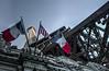 Paris Eiffel Tower USA (21mapple) Tags: france french flag usa eiffel tower eiffeltower lasvegas las vegas paris hotel structure