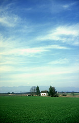 333-BB15/15 (Jock?) Tags: switzerland schweiz suisse geneve collex bossy landscape autumn fall cottage sky bliss windowsxp film retro vintage fuji fujichrome velvia 100f rvp100f fujica gw690 ebc fujinon 90mm 135 texasleica fujirama