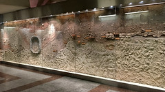 Geological Cross-Section (RobW_) Tags: crosssection dafni metro station athens greece thursday 19jan2017 january 2017