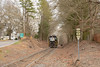 One Final Time (ajketh) Tags: ns norfolk southern emd gp382 high hood 5162 5166 catawba sc south carolina resolute bowater paper mill local overnight yard abolished shuttle cureton ferry road tree tunnel freight train railroad
