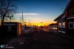 Sunrise in Kristiansand (KrishTh) Tags: ifttt 500px kristiansand view norway vestagder water sky clouds sea ocean travel city architecture beautiful sunrise colours blue sun light sunset beach summer night beauty