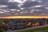 Sunset Moddergat City (Gerald Schuring) Tags: lauwersmeer lauwersoog moddergat geraldschuring schuring gerald friesland